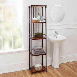 Free Standing Bathroom Shelving Youu0027ll Love | Wayfair
