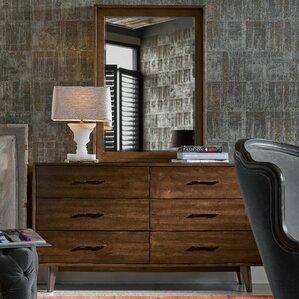 Julesburg 6 Drawer Dresser with Mirror..