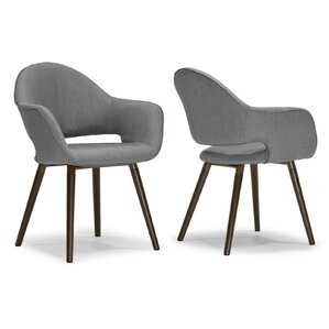 Arm Chair (Set of 2) by Glamour Home Decor