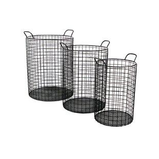Fresh Tall Wire Bin | Wayfair KZ18