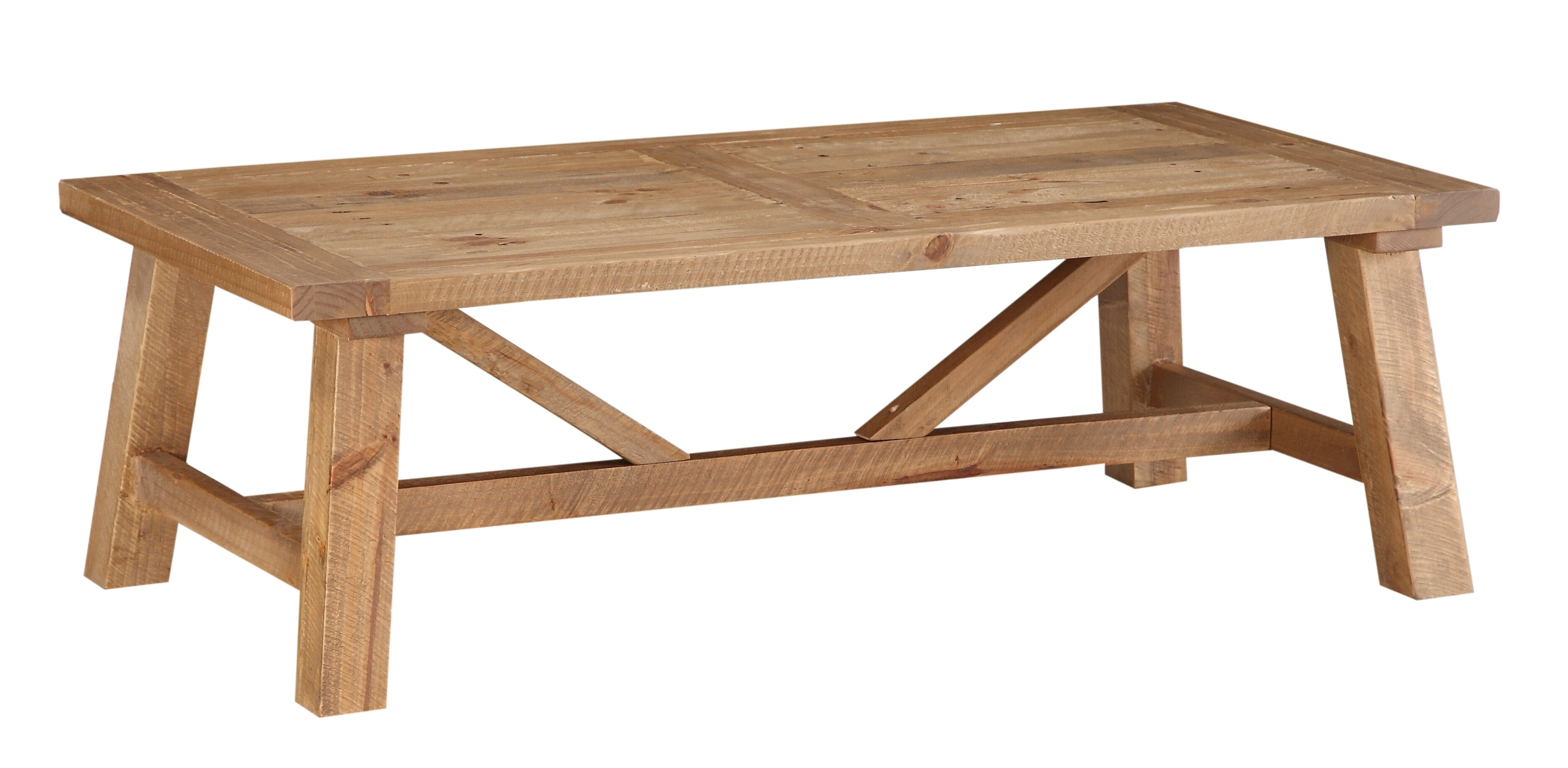 Millwood Pines Stambaugh Reclaimed Wood Coffee Table & Reviews -