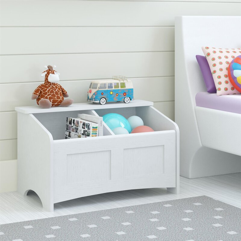 Superieur Christiana Toy Box With Section Divider