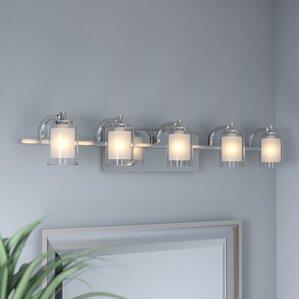 aldrich 5light vanity light - Vanity Light Bar