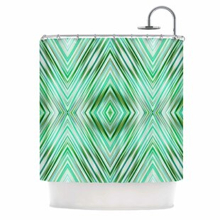 Fresh Mint Green Shower Curtain | Wayfair OG83