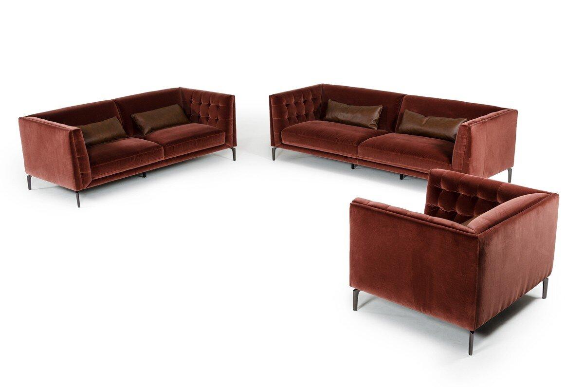 Everly Quinn Perdita 3 Piece Living Room Set & Reviews | Wayfair