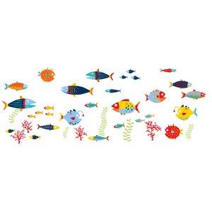Fish Tales Kids Wall Sticker Kit
