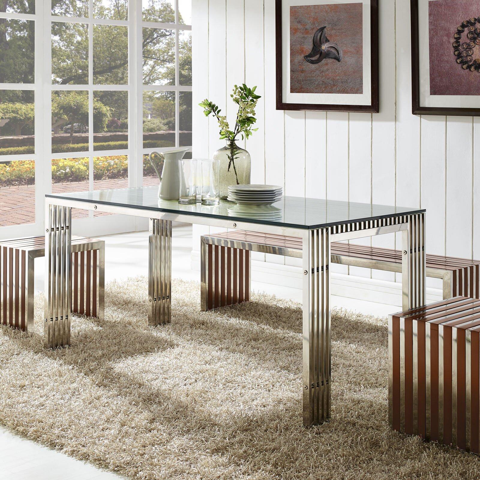 Modway Ground Dining Table & Reviews | Wayfair
