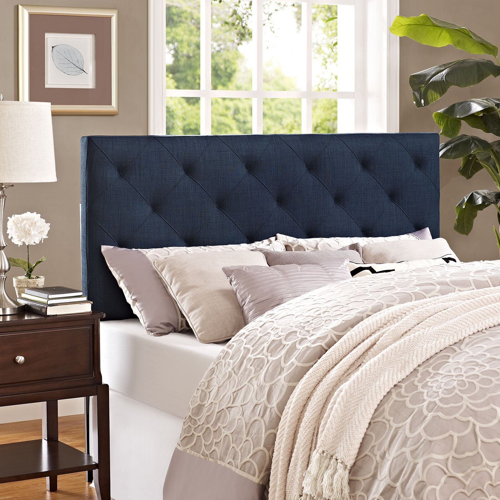 Modway Theodore Upholstered Panel Headboard Amp Reviews