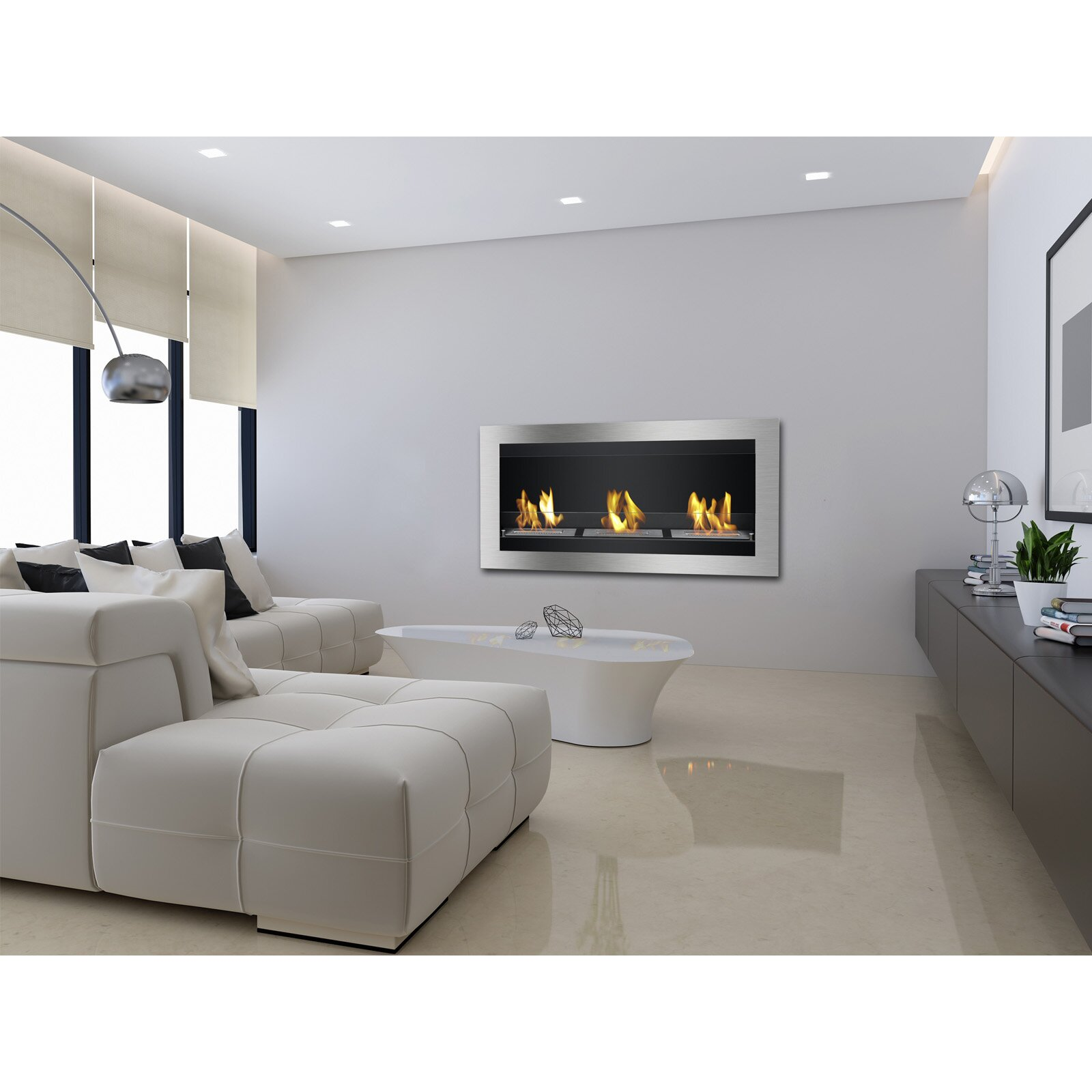 wall mounted bioethanol fireplace design best 10 premium quality