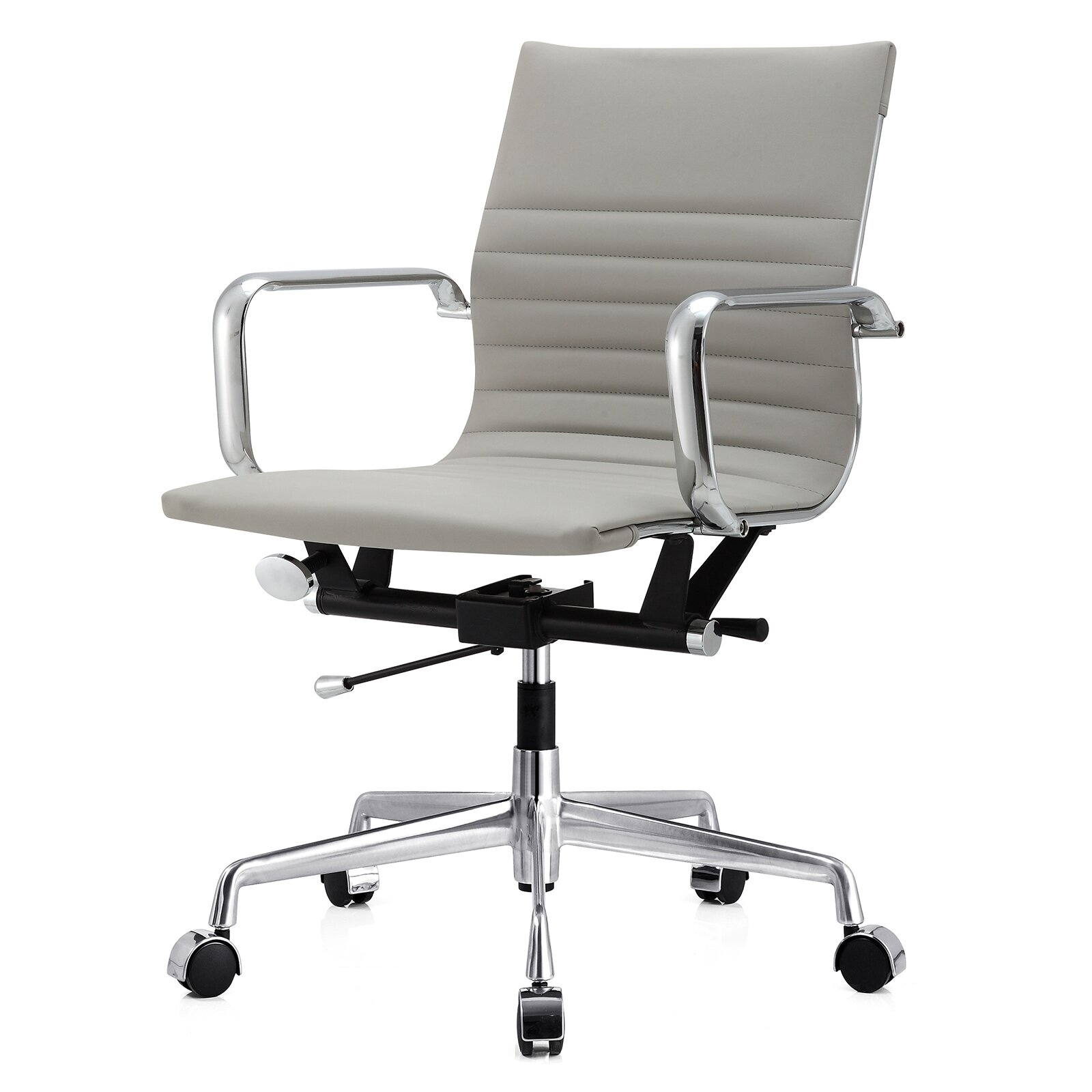 Modern leather office chair - Modern Leather Office Chair 1