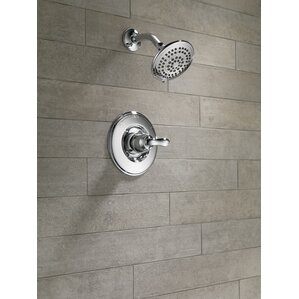 complete shower faucet kits. Linden Shower Faucet Trim with Lever Handles and H2okinetic Technology Faucets You ll Love  Wayfair