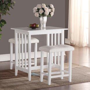 Save & White Pub Tables u0026 Bistro Sets Youu0027ll Love | Wayfair