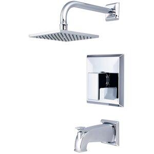 Mod Single Lever Handle Tub and Shower Trim Set
