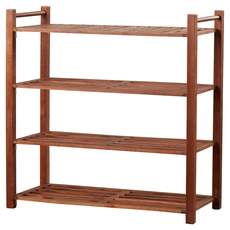 Outdoor 4 Tier Shoe Rack