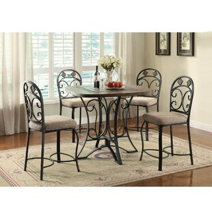 Bocanegra 5 Piece Counter Height Dining Set
