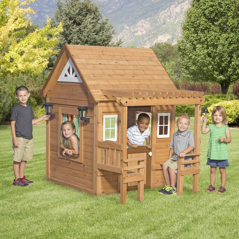 Backyard Discovery Cascade 4.4' x 6' Playhouse & Reviews   Wayfair on amish barn plans, two-story tiny house, play pirate ship plans, 2 story garage addition plans, 2 story garage apartments plans, two-story garage, storage shed design plans, jungle gym plans, storage shed with loft floor plans, two-story gazebo plans, two-story library plans, two-story shed lowe's, mini cabin plans, 2 story open floor plans, two-story workshop plans, loft bed with stairs plans, two-story office plans, building plans, caboose cabin plans, two-story storage shed plans,