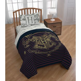 Harry Potter Spellbound 4 Piece Reversible Comforter Set