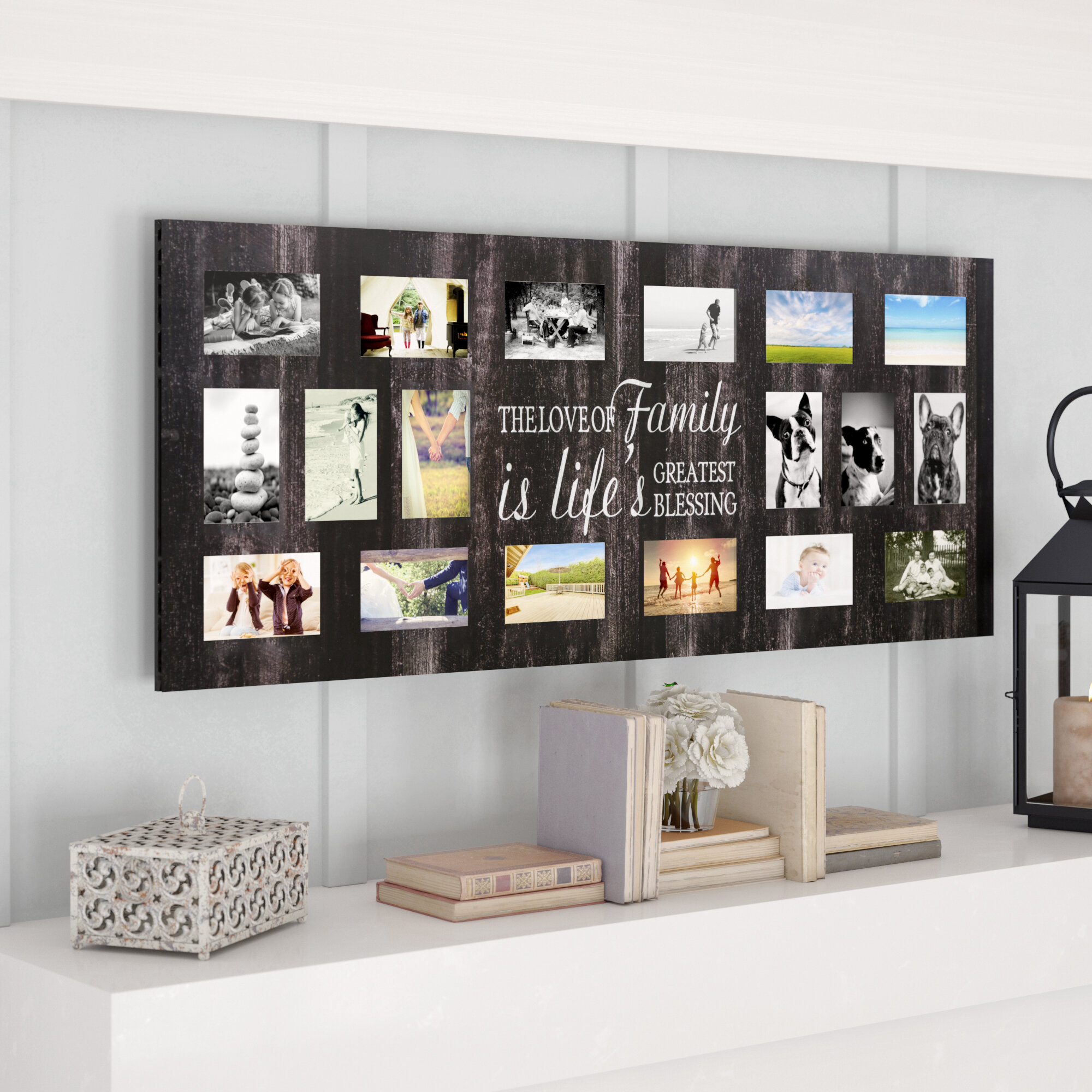 Red Barrel Studio Christopherso Family Collage Picture Frame ...