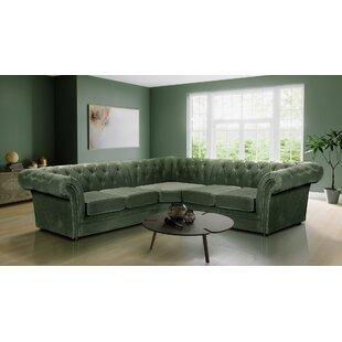 Green Corner Sofas You\'ll Love   Wayfair.co.uk