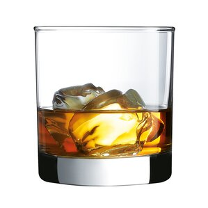 straight sided on the rocks glass set of 4
