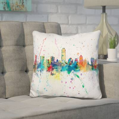 Wrought Studio Jiles Pittsburgh Pennsylvania Throw Pillow Wayfair
