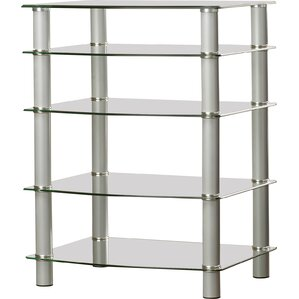 Multi-Level Component Stand with Shelves by Latitude Run