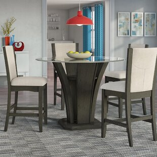 Stupendous Counter Dining Table Set Wayfair Beutiful Home Inspiration Truamahrainfo