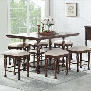 Harriett 7 Piece Pub Table Set