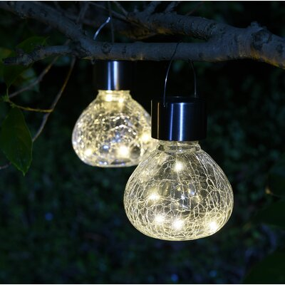Le Mini Jar Solar 2 Piece Led Landscape Lighting Set