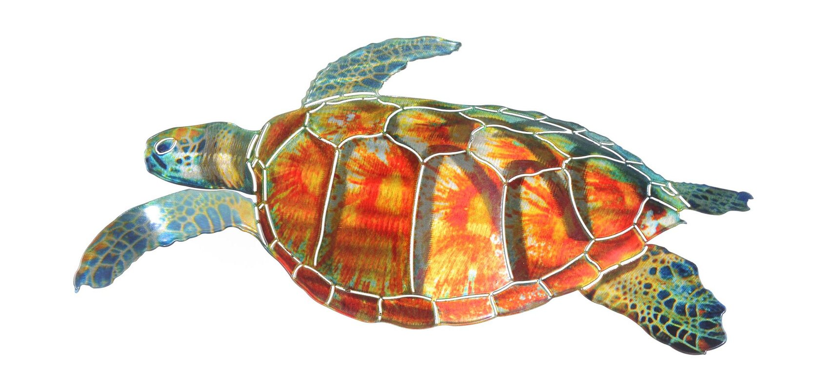 Large Sea Turtle Wall Décor
