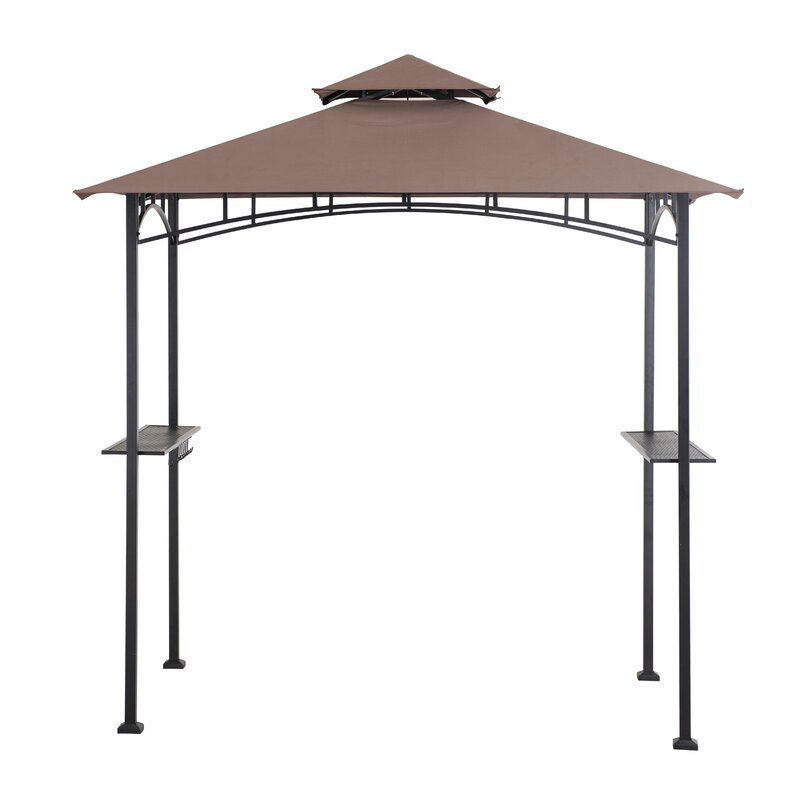 Meijer 5 Ft. W x 8 Ft. D Metal Grill Gazebo  sc 1 st  Wayfair & Sunjoy Meijer 5 Ft. W x 8 Ft. D Metal Grill Gazebo u0026 Reviews | Wayfair