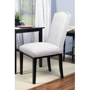 Harpole Upholstered Wood Dining Chair (Set of 2)