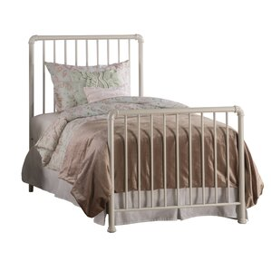 Adrienne Twin Panel Bed by Harriet Bee