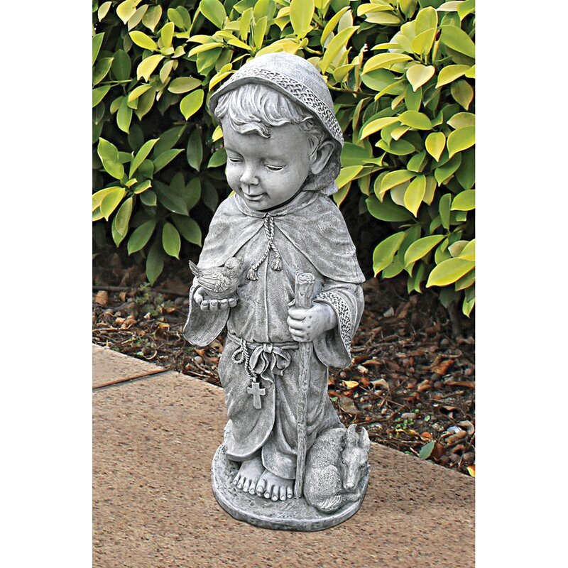 Baby Saint Francis Statue