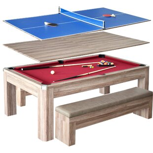 Newport 2 Piece 7u0027 Pool Table Set