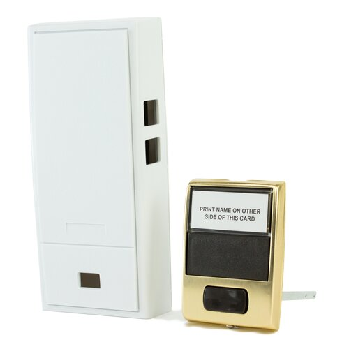 Two Note Mechanical Door Bell Chime And Button Without Viewer