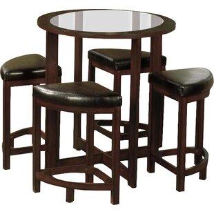 Landaverde 5 Piece Counter Height Dining Set