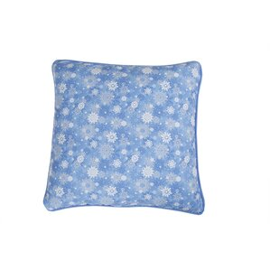 Snowflake Holiday Pillow Protector by Affluence Home Fashions