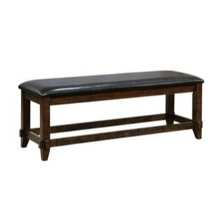Mahle Padded Leather Bench