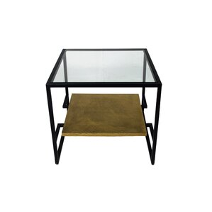 Portia Square End Table by Bungalow Rose