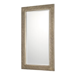Gilded Bronze Decorative Wall Mirror