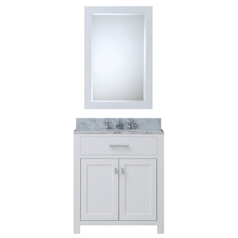 "Bathroom Vanity .Co.Za darby home co fran 30"" single bathroom vanity set with mirror"