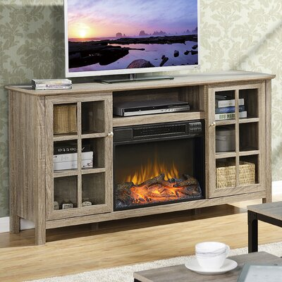tv stand with fireplace. benoit 60\ tv stand with fireplace r