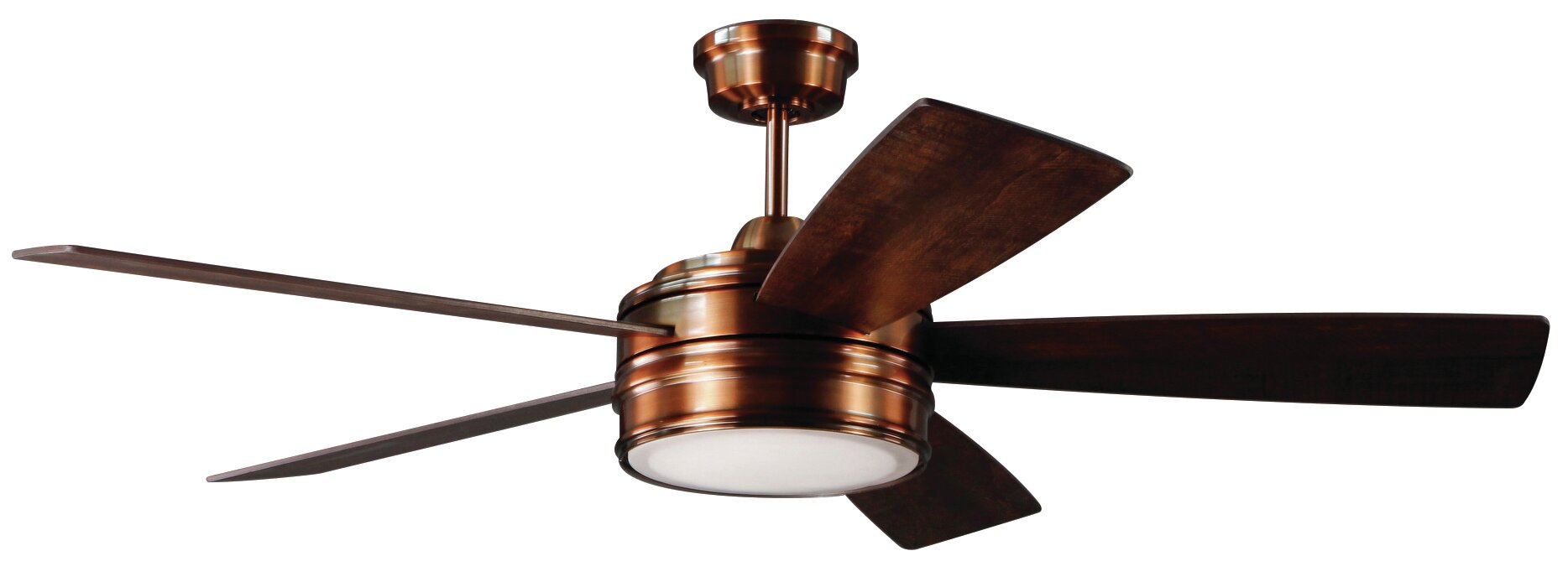 52 Quot Mathers 5 Blade Led Ceiling Fan With Remote Amp Reviews