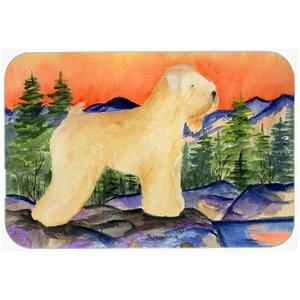 Wheaten Terrier Soft Coated Kitchen/Bath Mat