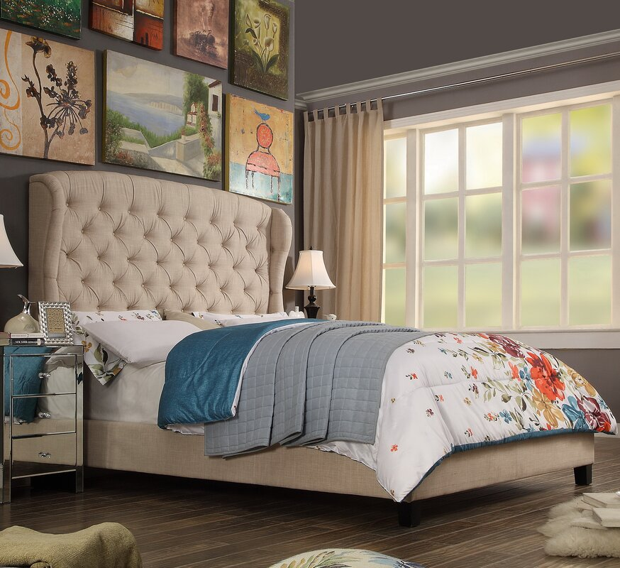 Alexia Upholstered Panel Bed