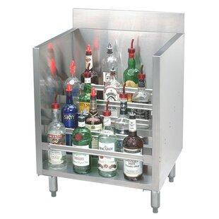 Silver 36 Liquor 45 Bottle Floor Wine Bottle Rack