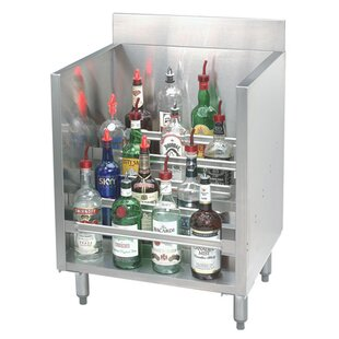 Stainless Steel Liquor 15 Bottle Floor Wine Bottle Rack