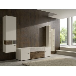 Wohnwand Spiegelverkehrt von Home Loft Concept