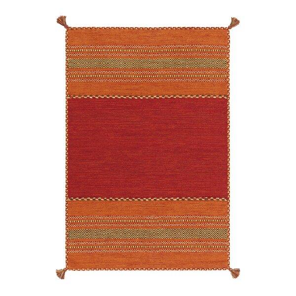 Kayoom Handgefertigt Flachgewebe Teppich Navarro Aus Baumwolle In
